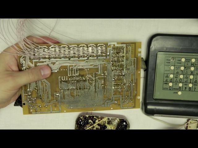 ПЭВМ «Нафаня» - ремонт, доработка до совместимости с ZX Spectrum 128K. Изготовление платы - ЛУТ