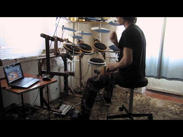 Электронная ударная установка своими руками System Of A Down - Spiders Drum Cover