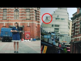 Shocking music video has hidden moment man jumps off building