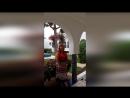 14.09.2017г. Агадир. Отель Les Omayades. День отъезда. Дочка Настя берёт у нас интервью.