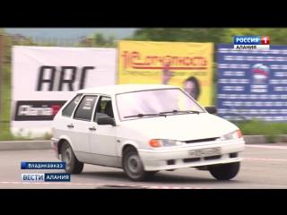 В РСО-А прошел республиканский чемпионат по ралли-спринту