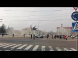 На Красну площу сідав гелікоптер