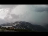 г. Высока,пик 1803 м на уровнем моря, начало грозы
