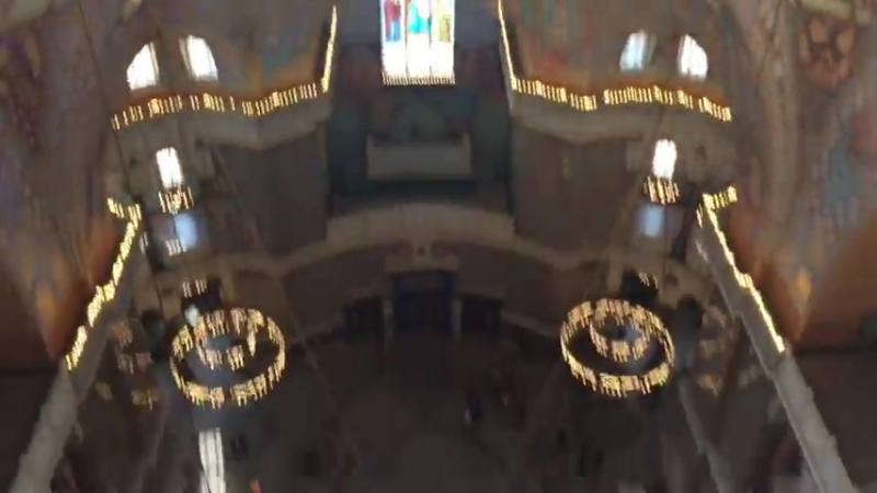 нам посчастливилось побывать по чистой случайности прям под самым куполом Никольского собора, незабываемые впечатления)