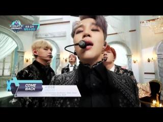 южнокорейская группа BTS - Blood Sweat Tears] Comeback Stage _ M COUNTDOWN Сеул, Республика Корея.
