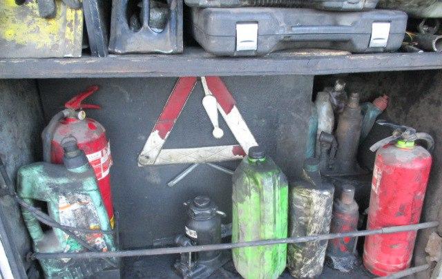 НаКурской границе схвачен очередной транспорт спотайным баком