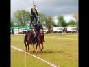 Репетиция конной группы ВКО ВВД