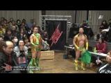 Atsushi Maruyama, Kazumi Kikuta, Tatsuhiko Yoshino vs. Hercules Senga, Tsutomu Oosugi, Shinobu (BJW - 30.12.2016)