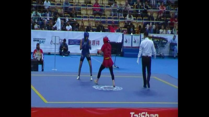 Berna TUT, Turkey VS Saidi YASMINA, Algeria. Round 1