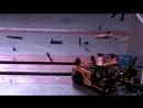 Краш-тест Porsche 911 из конструктора «Лего»