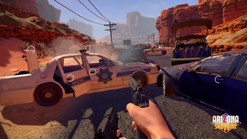 Игра Arizona - стрелялка в зомби. Игровой клуб виртуальной реальности VRStyle Сочи 79186190808