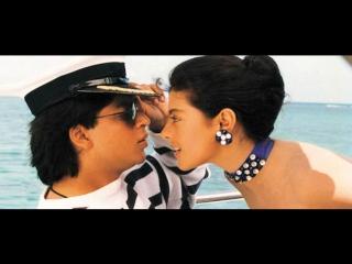Шахрукх Кхан и Каджол Игра со смертью Baazigar  Shahrukh khan Kajol Baazigar Индия Индийский фильм Кино Клип  Музыка
