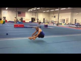 Невероятные акробатические трюки