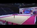 Дина Аверина - булавы многоборье Гран-при Холон 2017