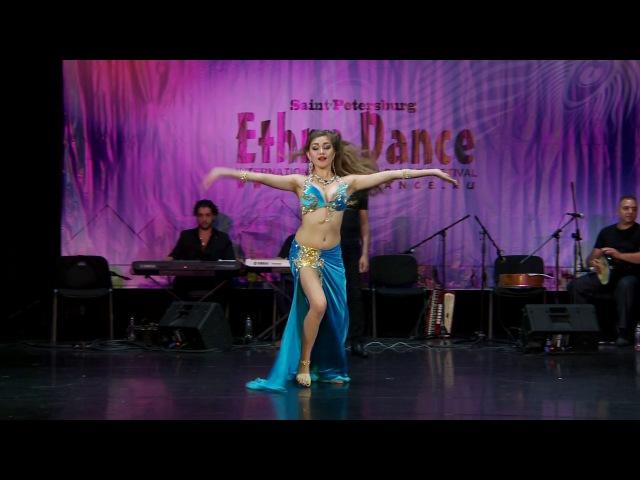 Ethno Dance 2017 Final Yahyaeva Rufina 2 place Яхьяева Руфина Fi youm wa leila Астрахань Камелия