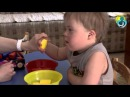 Индивидуальное занятие педагога логопеда с ребёнком с Синдромом Дауна украинск