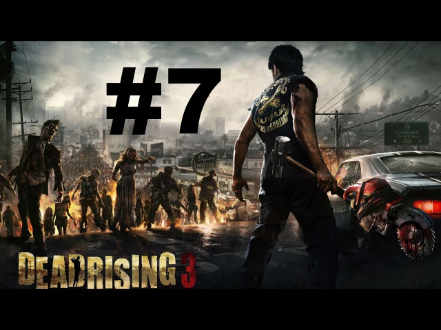 Dead Rising 3 7 co-op   Чертовы Самолетики