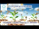 Access Bars. «ДЕНЬГИ И СИЛА ЛЮБВИ» СЕАНС по методу ДОСТУП К БАРАМ-32 точки на голове с Т
