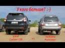 Задранный Subaru Forester на MTшках. Land Cruiser 150. Nissan Patrol. Jeep Grand Cherokee и Витарка.