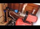Вода в дом из колодца Подключение насосной станции