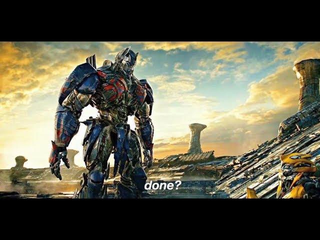 Transformers: The Last Knight - Optimus Prime vs Bumblebee