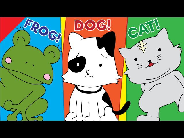 Learn Animals for Kids   Video Flash Cards   ESL for Kids   Fun Kids English