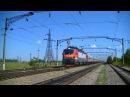 РЖД ЭП20-038 с поездом Москва - Новороссийск