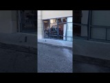 ANGRY LADY DRIVES SUV INTO T-MOBILE STORE PALM SPRINGS FL