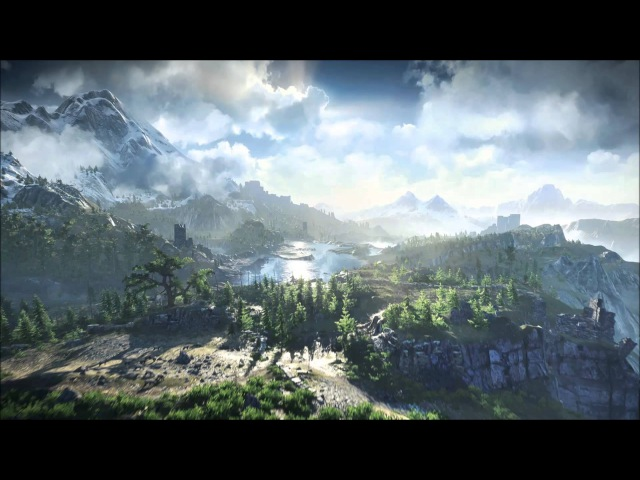 The Witcher 3 Wild Hunt OST The Fields of Ard Skellig Extended