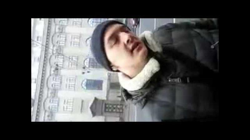 Анархісты сустрэлі ў Менску адміністратара суполкі антымайдан-Беларусь. Пошуг...