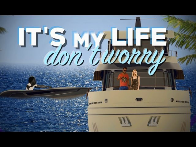 Chawki - It's My Life Feat. Dr. Alban (Produced By RedOne Rush) Official Lyric Video