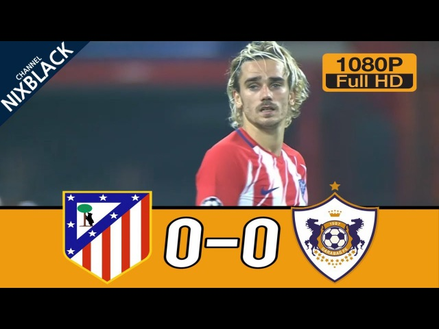 QRB vs ATL 0-0 All Goals Highlights English Commentary (18/10/2017) HD/1080P