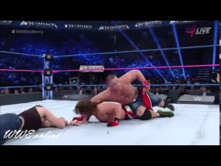 AJ Styles vs. John Cena vs. Dean Ambrose: WWE No Mercy october 9, 2016 Highlights