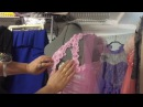 Вышивка на швейной машинке👗Декор платья/ Метод наколки 👗Sewing Embroidery👗Nähmaschine Stickerei