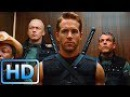 Уэйд Уилсон (Дэдпул) демонстрирует свои способности / Люди Икс: Начало. Росомаха (...
