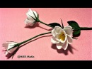 Easy diy Origami lisianthus paper flower crepe paper flower making step by step craft paper tutorial