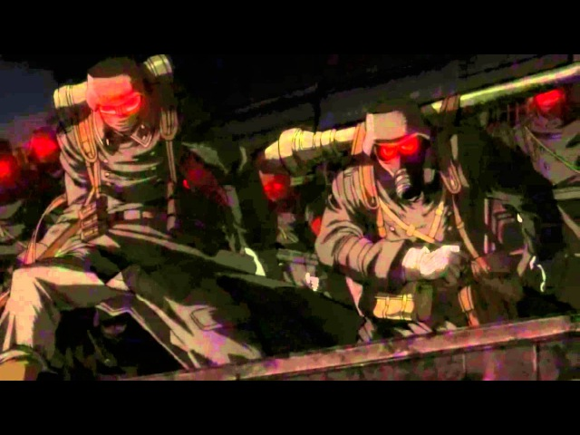 Hellsing ova Millenium Angriff auf London ( nachtmahr- feuer frei)