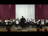 Муниципальный эстрадно-духовой оркестр в гостях у ДШИ №1 имени М.П.Мусоргского (2...