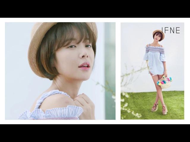 [IFNE] 이프네 2017 SS 화보 촬영 메이킹 영상