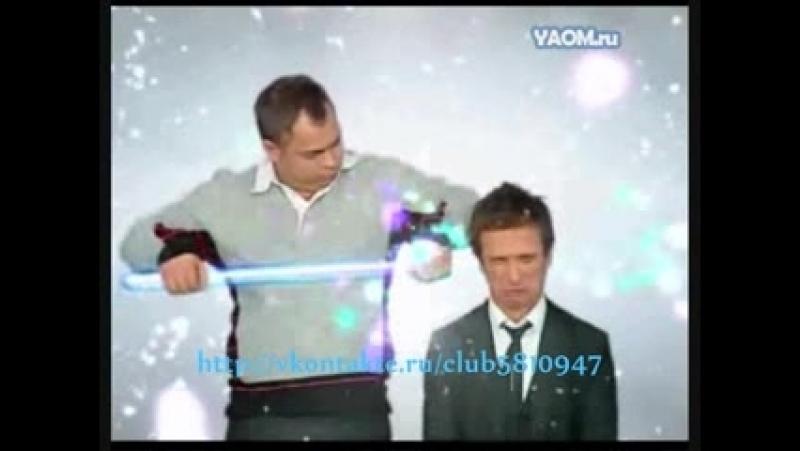 Новогодняя заставка (ТНТ, 2009-2010) Рома и Игорь