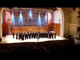 Камерный хор московской государственной консерватории.