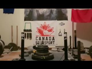 Dan Fleming - 2.5crusher lift 76.38kg