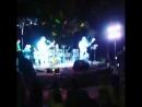 группа Ровесник Костёр (отрывок с концерта Cover на песню группы Машина Времени Волжский парк дк ВГС 2017)