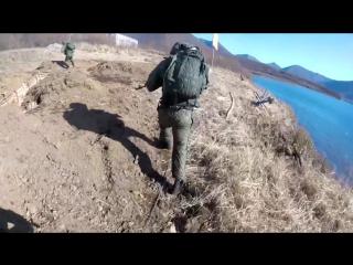 Высадка морского десанта ТОФ в ходе бригадного тактического учения