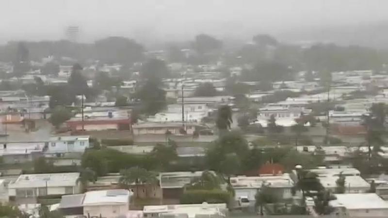 Ураган Ирма в Пуэрто-Рико, 5_00_Hurricane IRMA Puerto Rico, 5_00 p.m