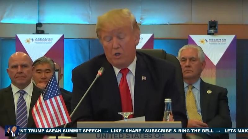 President Trump ASEAN Summit SPEECH With Duterte in Manila, Philippines 11_13_2017