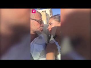 Елена Беркова с мужем. Венчание на Кипре