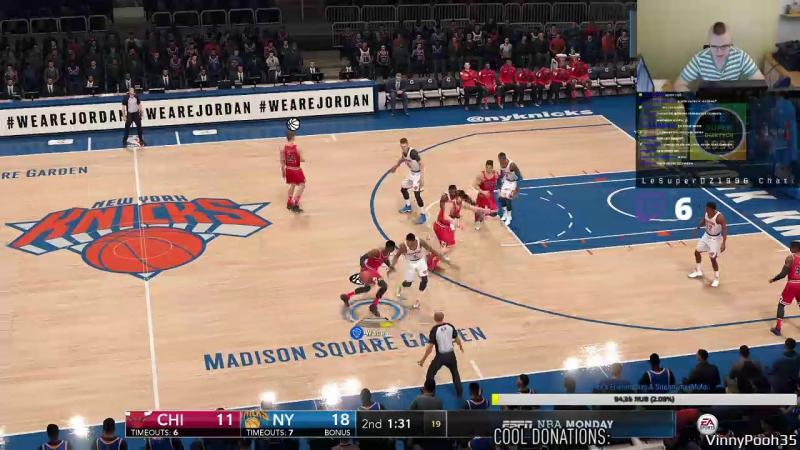 FIFA 17 NBA Live 18 (PS4) - Twitch Stream 203