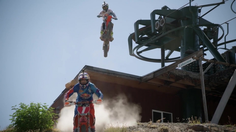 Shredding the Ultimate Hard Enduro Playground at a Classic Tahoe Ski Hill ¦ Donner Partying 2016