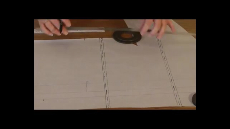 Удлинение и укорачивание выкроек, если цельнокроенный рукав